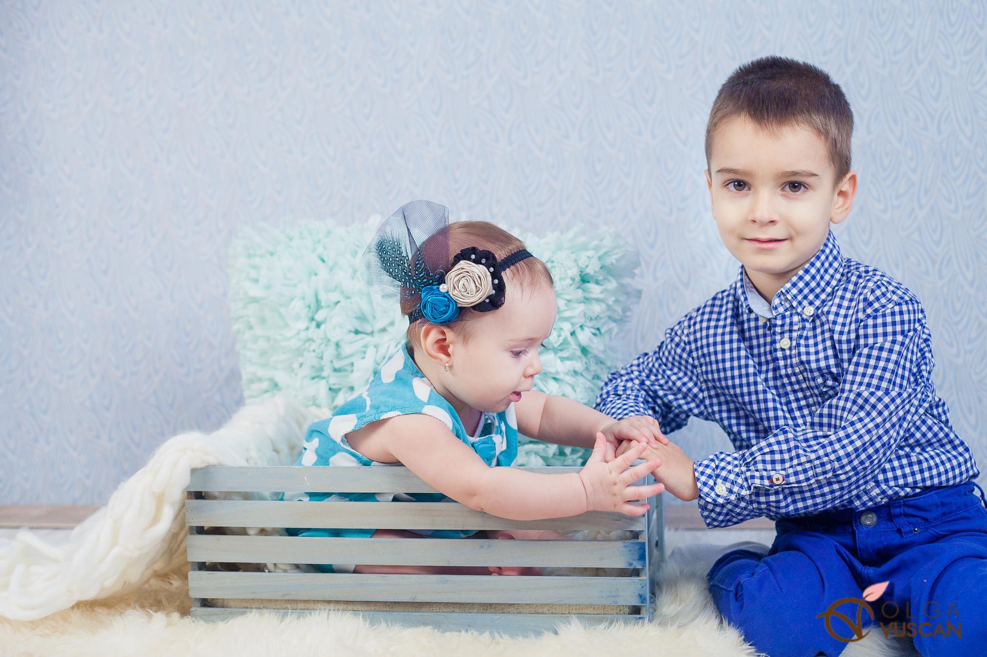 frate si sora_sedinta foto la 6 luni in studio_Olga Vuscan