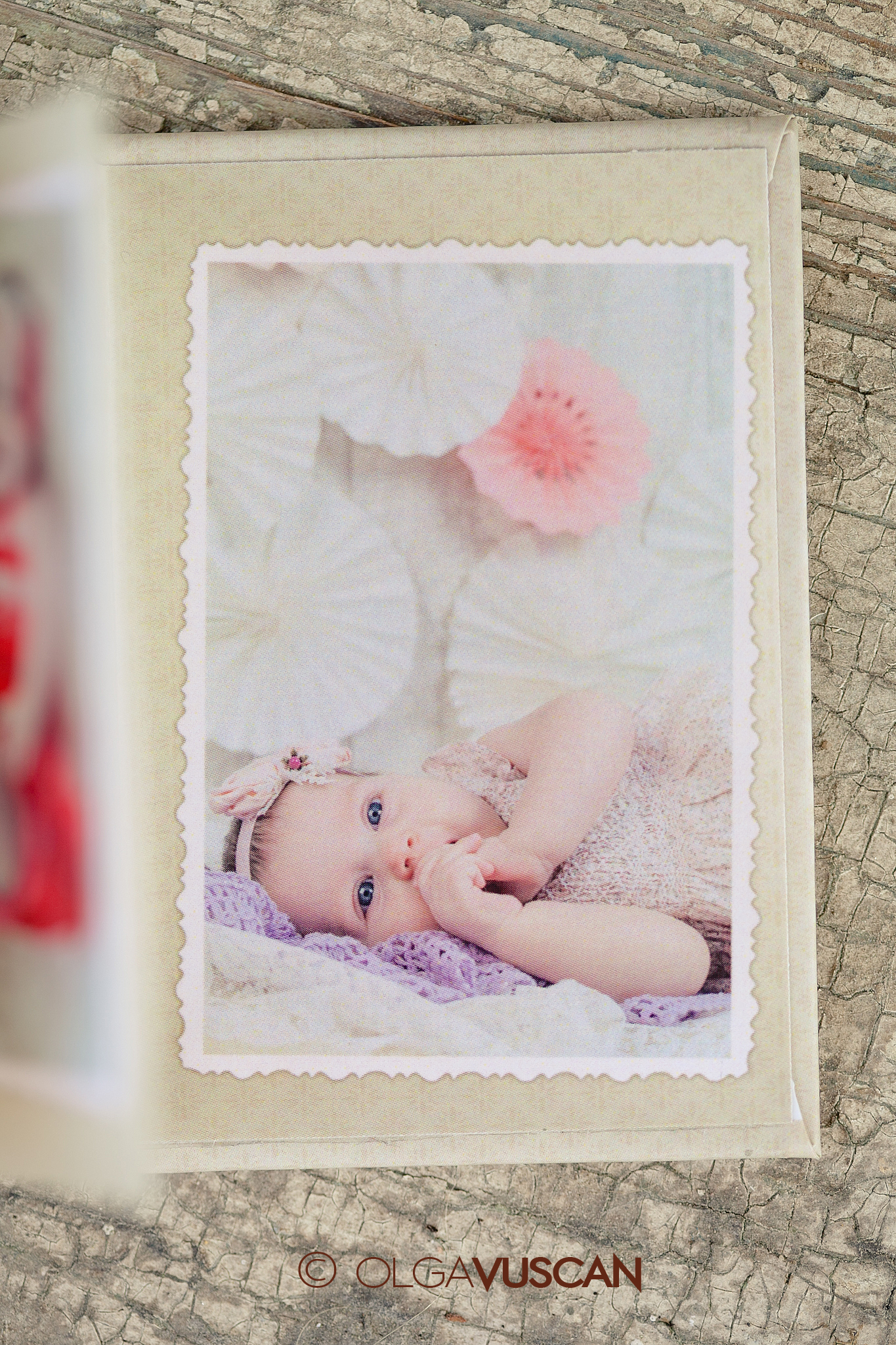 mini-acordeon imprimat_fotografii de familie_Olga Vuscan