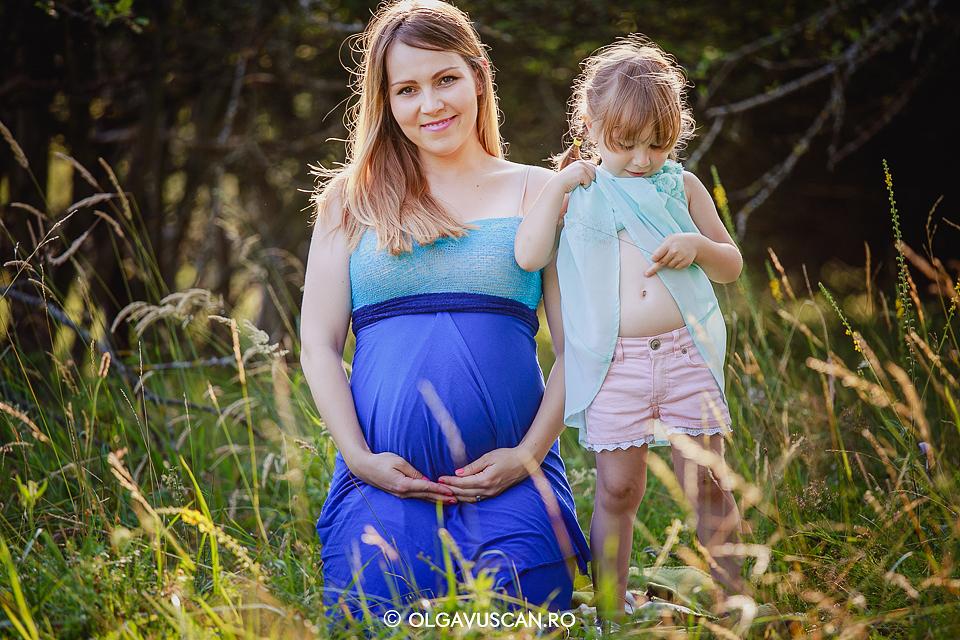 sedinta foto maternitate, poze cu burtica, sesiune foto de gravida, fotograf maternitate Cluj Olga Vuscan