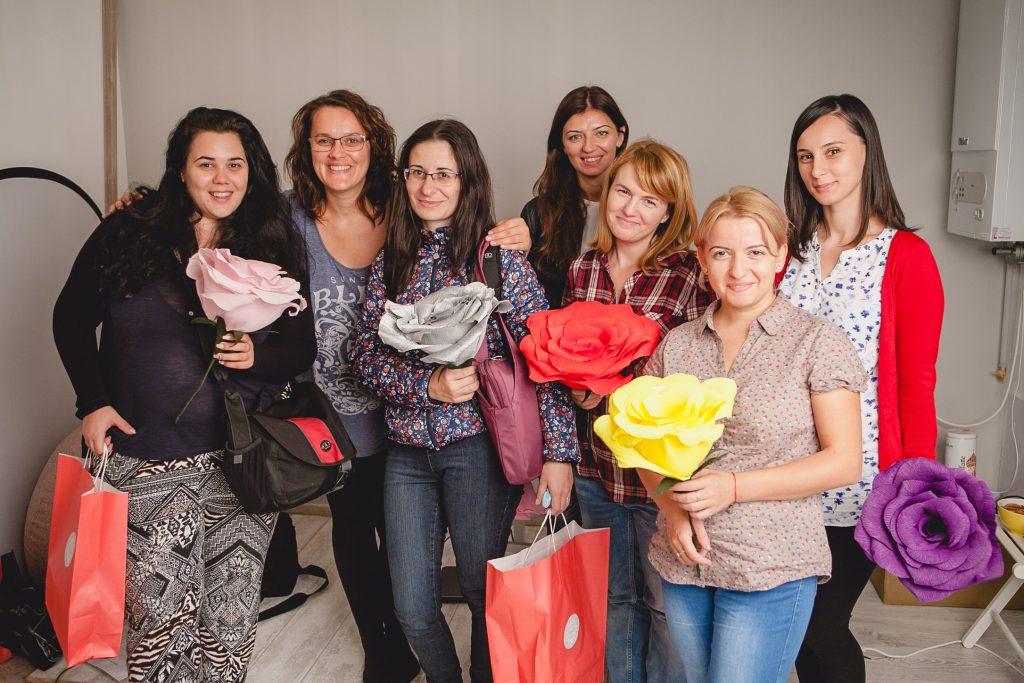 Atelier fotografie de nou-născut, workshop newborn Cluj, curs foto practic pentru nou-nascuti