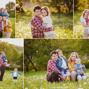 Copii si papadii – sesiune foto de familie in natura {Cluj}