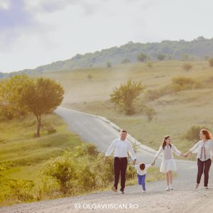 Sedinta foto de familie in natura {Cluj}