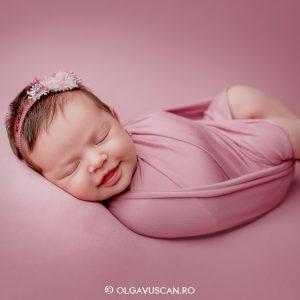 Domnita Magdalena ~ sedinta foto de nou-nascut {Cluj}