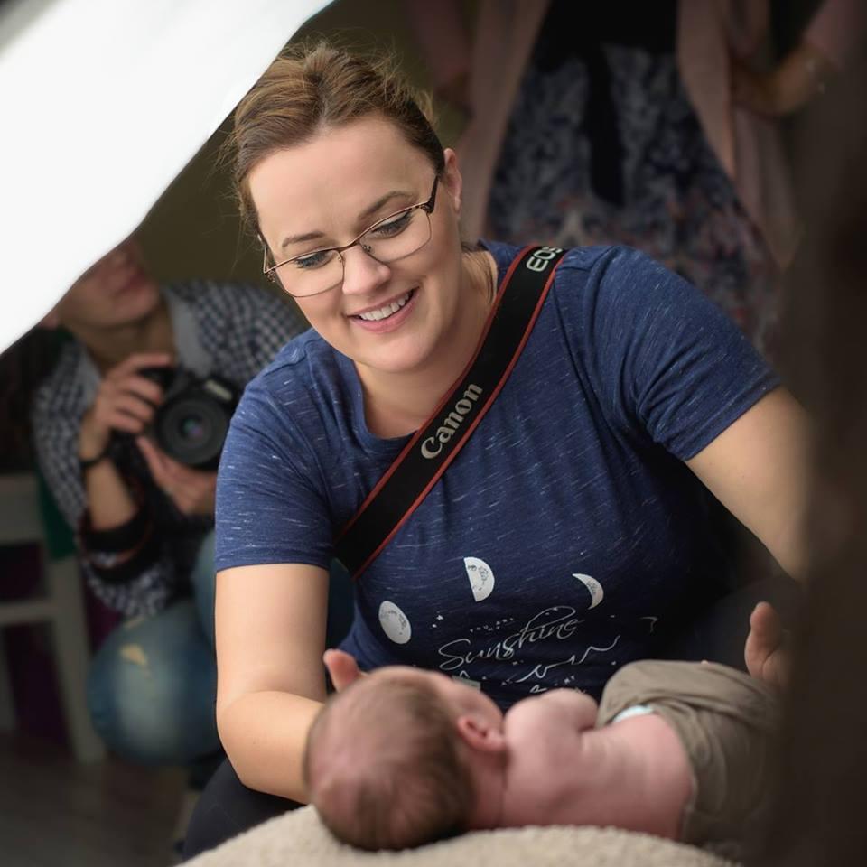 atelier de fotografie pentru nou-nascuti, workshop BebeLush, atelier foto bebelusi Olga Vuscan
