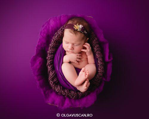 Irina ~ 1 luna {sesiune foto de nou-nascut}
