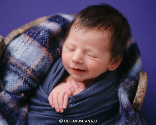 Ivan ~ sedinta foto de nou-nascut {Cluj}