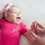 Sofia Maria la 3 luni, fotografie de copii