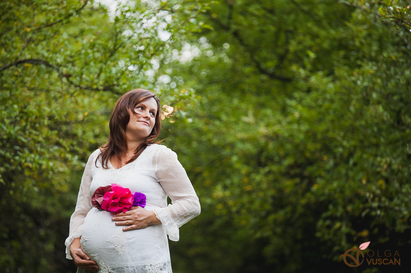 maternity photosession by Olga Vuscan