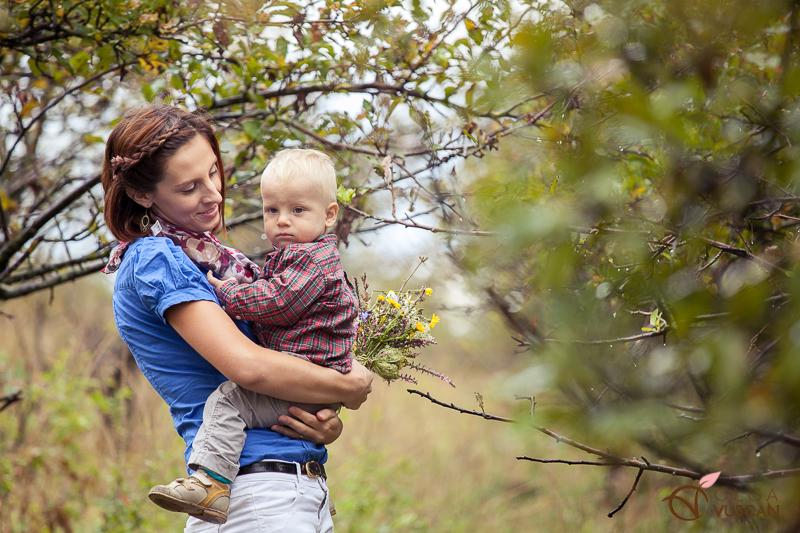 sedinta foto de toamna cu copii de Olga Vuscan