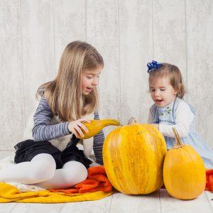 Alessia si Sara ~ sedinta foto de copii in studio