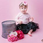 Medeea ~ fotografii la 1 an in studio {Cluj}