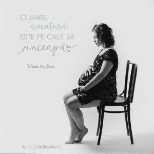 Carmen ~ sedinta foto de maternitate in studio {Cluj}