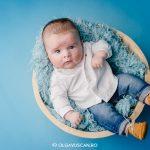sedinta foto baiat 3 luni, sesiune foto studio, fotograf profesionist copii Cluj