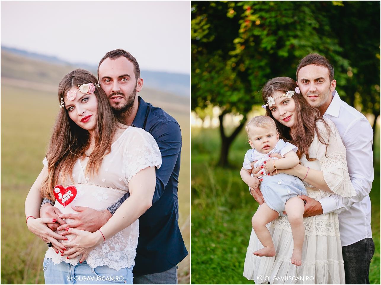 inainte si dupa nastere, before & after, sedinta foto la 9 luni, sesiune foto copii Cluj Olga Vuscan