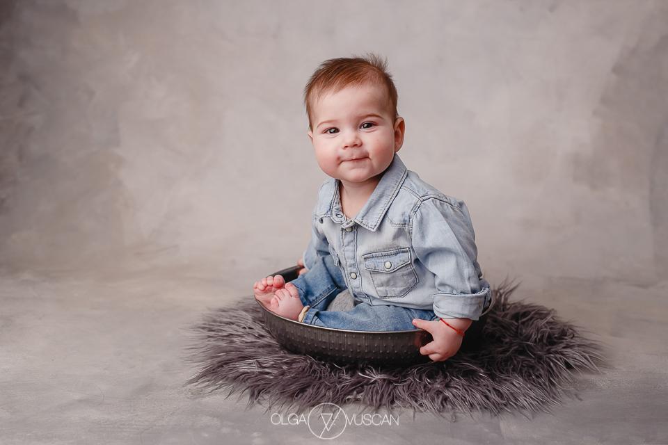 sedinta foto bebe 6 luni, fotograf bebelusi, poze bebe, fotograf copii, sesiune foto 6 luni