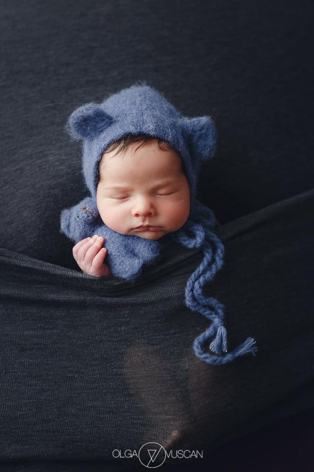 sedinta foto nou-nascut, fotograf bebelusi Cluj, fotograf nou-nascuti Olga Vuscan