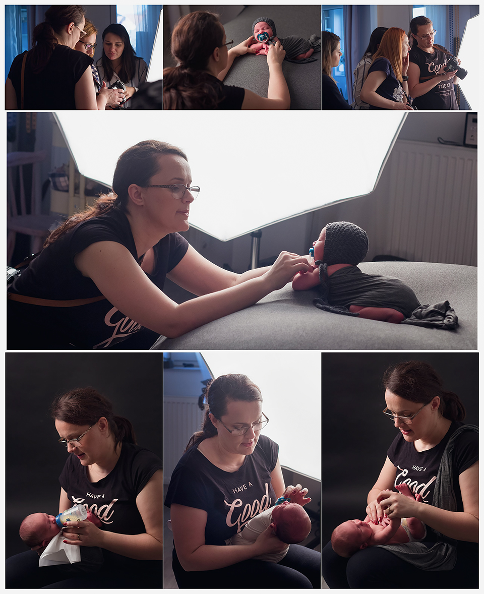 atelier de fotografie pentru nou-nascuti, atelier foto, workshop fotografie copii, mentoring fotografie Olga Vuscan